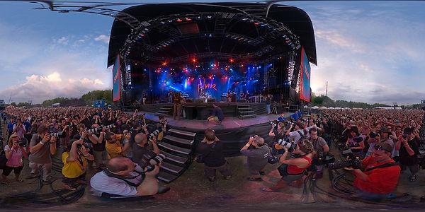 360 gradi concerto festival glome