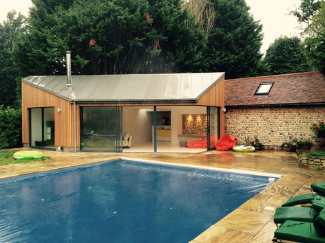 West Sussex Pool House