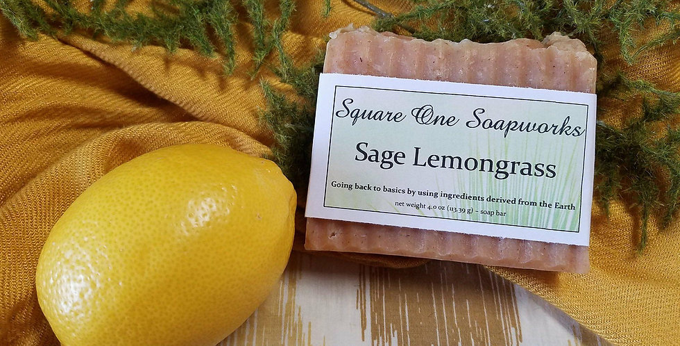 Sage Lemongrass Soap