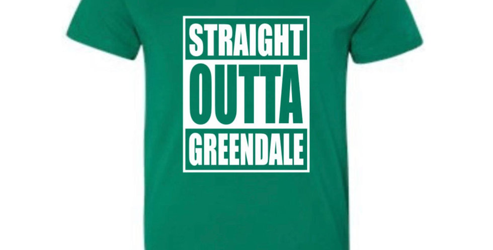 Straight Outta Greendale Adult T-Shirt