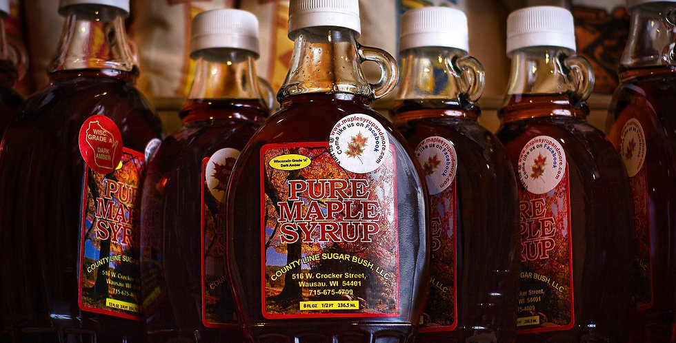 8oz. Maple Syrup from Wausau, WI