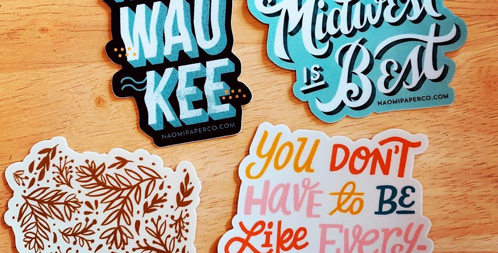 Stickers by Naomi Paper Co.