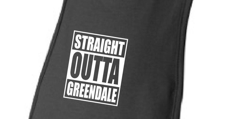 Straight Outta Greendale Baby Bib