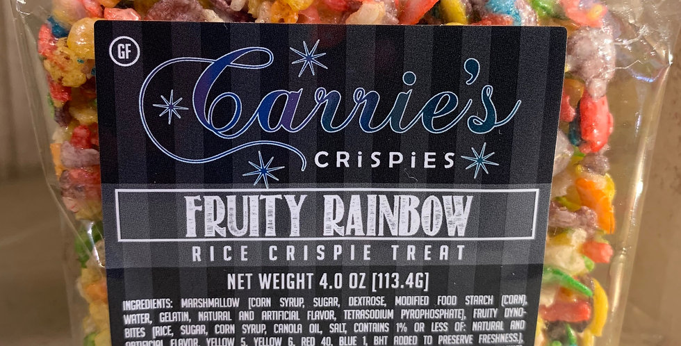 Fruity Rainbow Gourmet Crispy