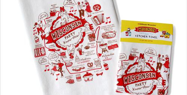 Wisconsin Party Know-How Towel