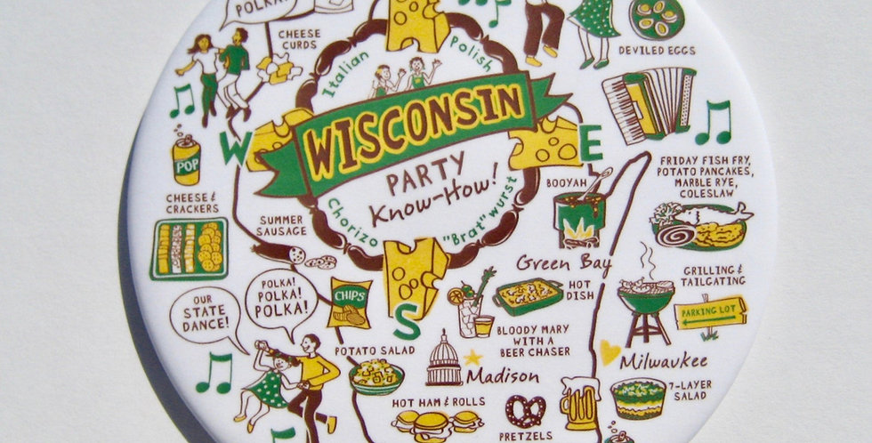 Wisconsin Party Know How Magnet
