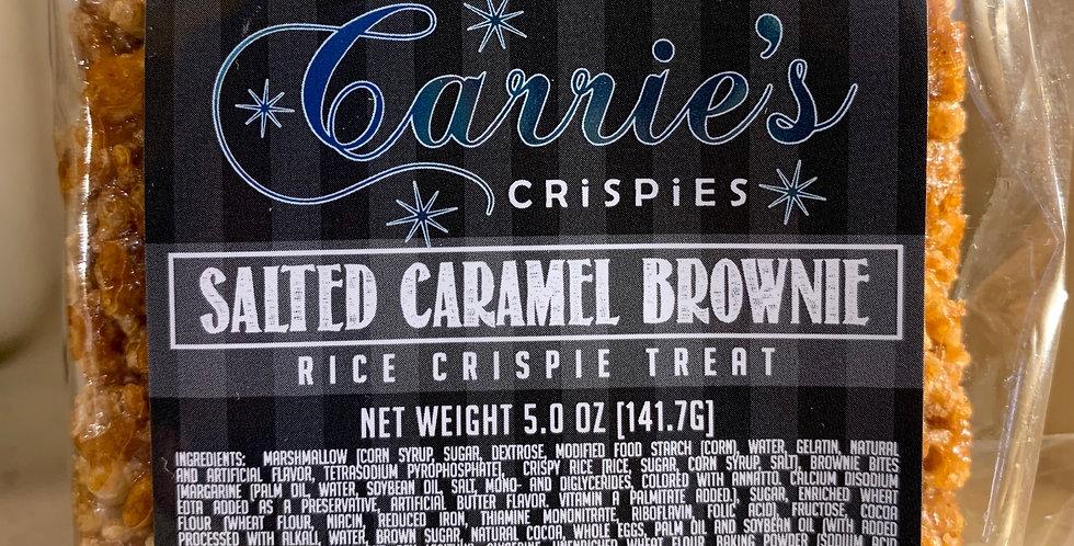 Salted Caramel Brownie Gourmet Crispy