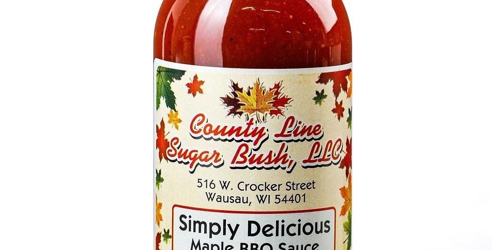 Horseradish: Maple BBQ Sauce
