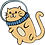 Thumbnail: Floating Space Cat Sticker