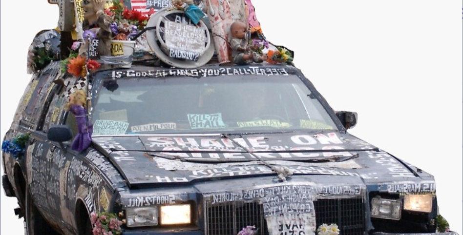 MKE Jesus Car Sticker
