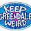 Thumbnail: Keep Greendale Weird Sticker