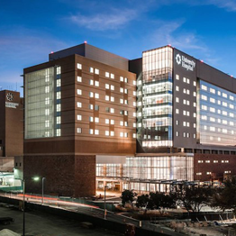 UHS Clinics and Penthouse, University Health System