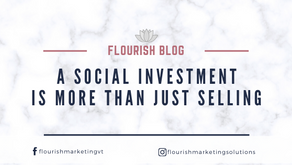 A Social Investment is more than just Selling