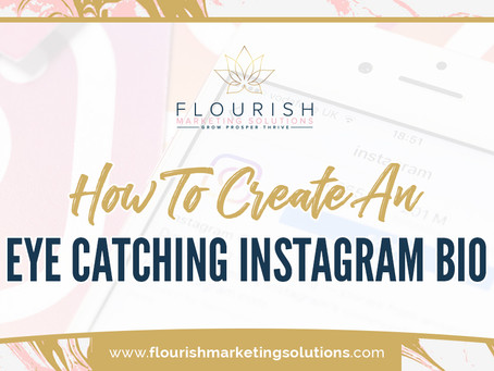 Create an Eye Catching Instagram BIO!