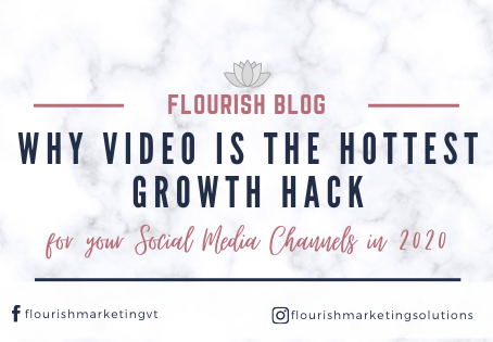 Why Video is the Hottest Growth Hack for your Social Media Channels in 2020