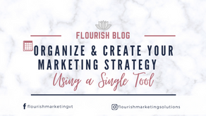 Organize & Create your Marketing Strategy using a Single Tool