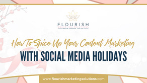 How do you Spice up your Content Marketing with Social Media Holidays?