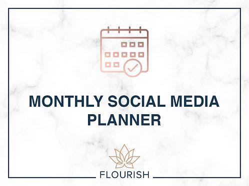 December Monthly Marketing Planner