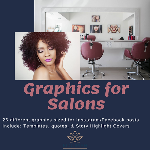 General Salon Graphics Package
