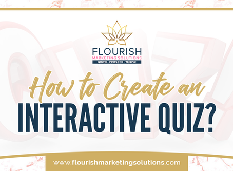 How to Create an Interactive Quiz