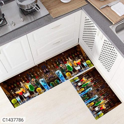 Anti-Skid Kitchen Floor Mats (Pack of 2)