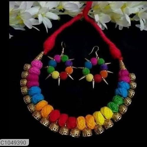 Antique Thread Jewellery Set