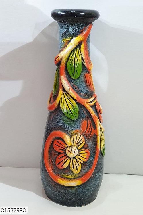 Beautiful Teracotta flower vase
