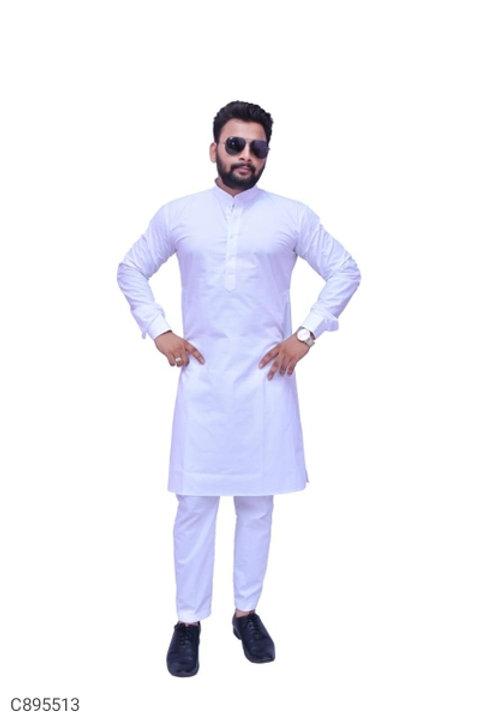 Banarasi Silk Solid Straight Kurta and Churidar