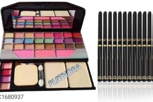 Combo of TYA 6155 Eye Shadow Pressed Powder Colours & Beauty Blender