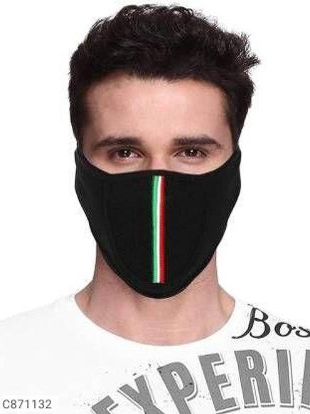 Black Bike Riding Pollution Face Mask for Men & Women