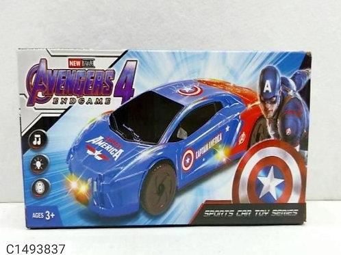 Avengers 3d car kids toys