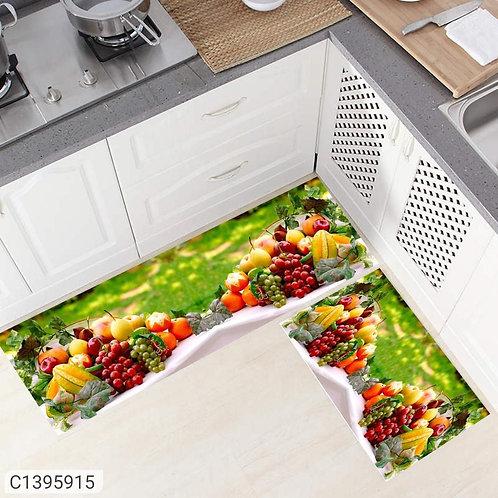 Antiskid Kitchen Floor Mats (Pack of 2)
