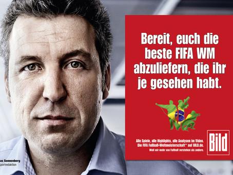 Marketing campaign   BILD for FIFA World Cup 2014