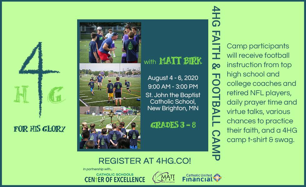 Faith and Football Camp