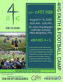 Faith & Football Camp