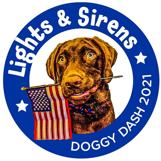 2021 Lights & Sirens Doggy Dash 5K-1K Run/Walk