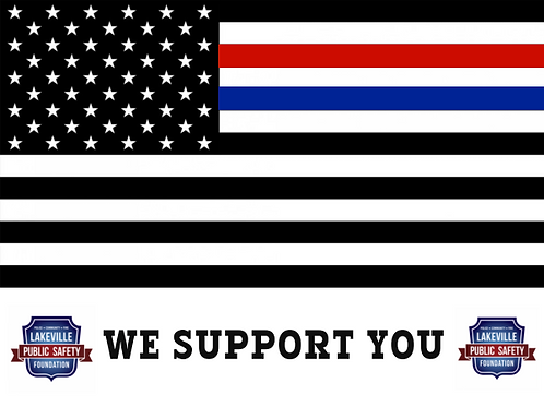 Yard Sign- We Support You (FLAG DESIGN)