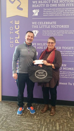 Anytime Fitness 2017 Donation