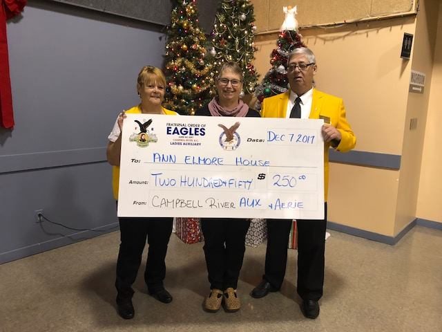 Eagles Ladies Auxiliary 2017 Donation
