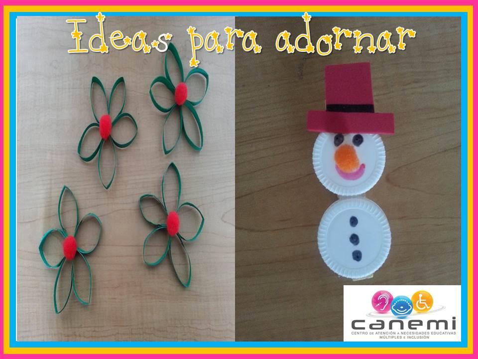 Ideas para adornar navidad canemi atenci n psicopedag gica - Como decorar un salon en navidad ...