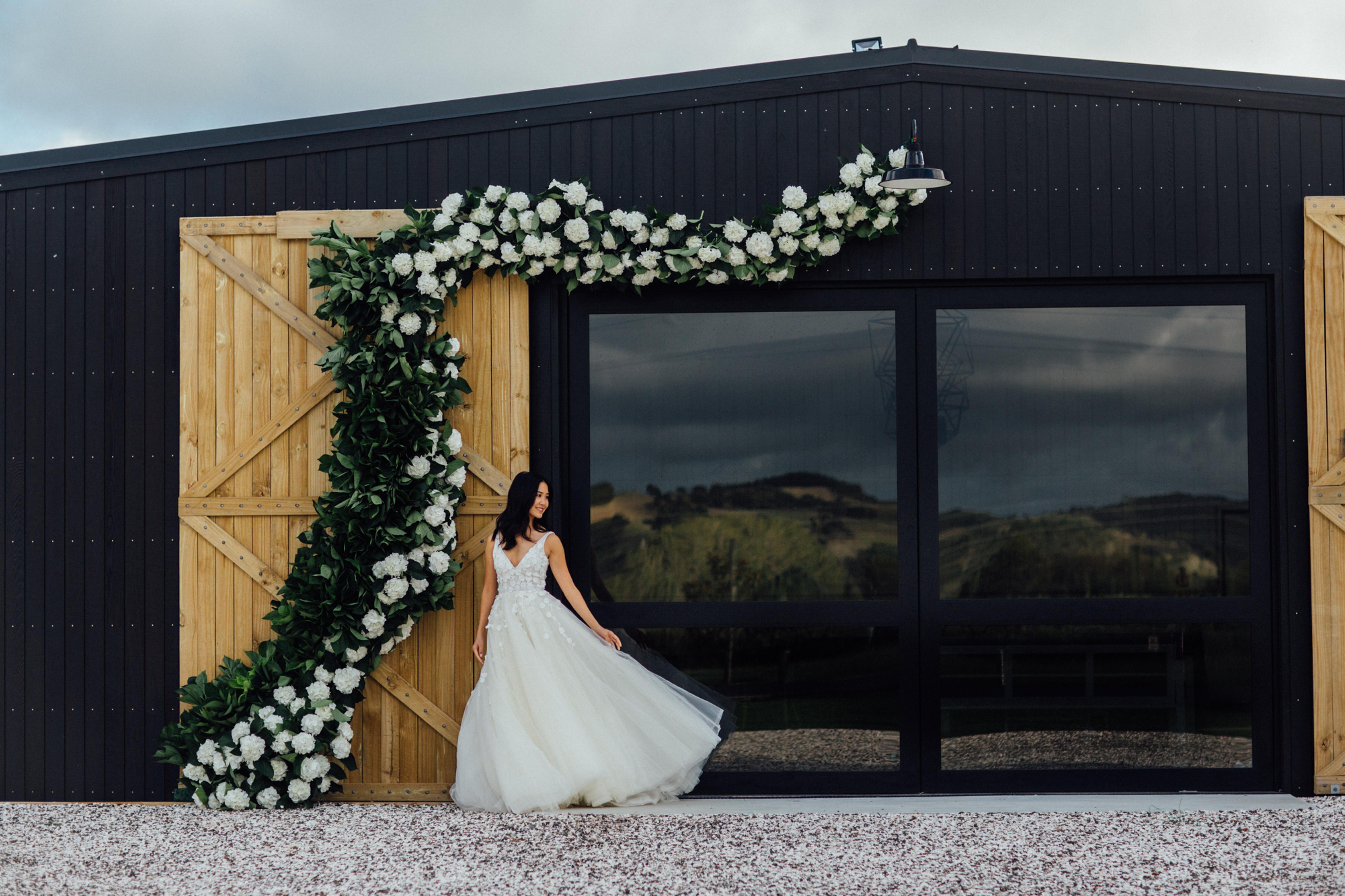 Initial Wedding Venue Visit