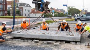 Ook in Harlingen zijn onze aquaParkers toegepast voor het verduurzamen van parkeerplaatsen