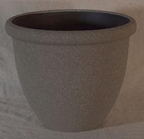 """Stone Lite Sierra 14"""" Round Planter"""