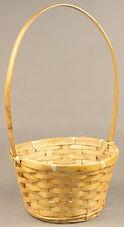 Bamboo 7 Inch Basket