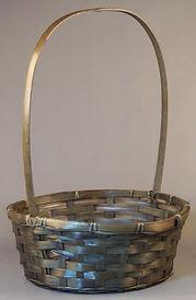 Bamboo 12 Inch Round Basket