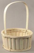 Bamboo Slat Basket
