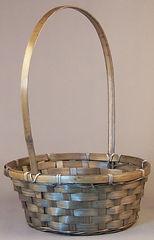 Bamboo 10 Inch Basket