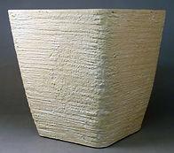 "Aged Lite Siena 13.5"" Square Planter Antique Beige"