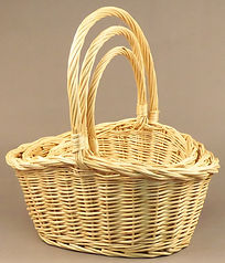 Willow Oval Baskets