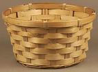 """Bamboo 8"""" Basket"""